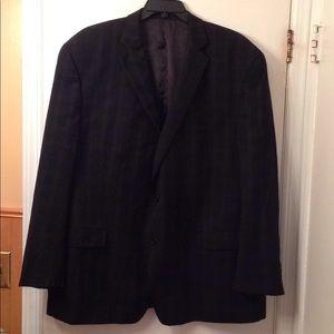Joseph Abboud men's black suit jacket